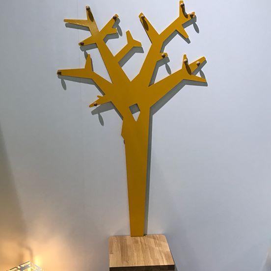 Vješalica Woodway - žuta