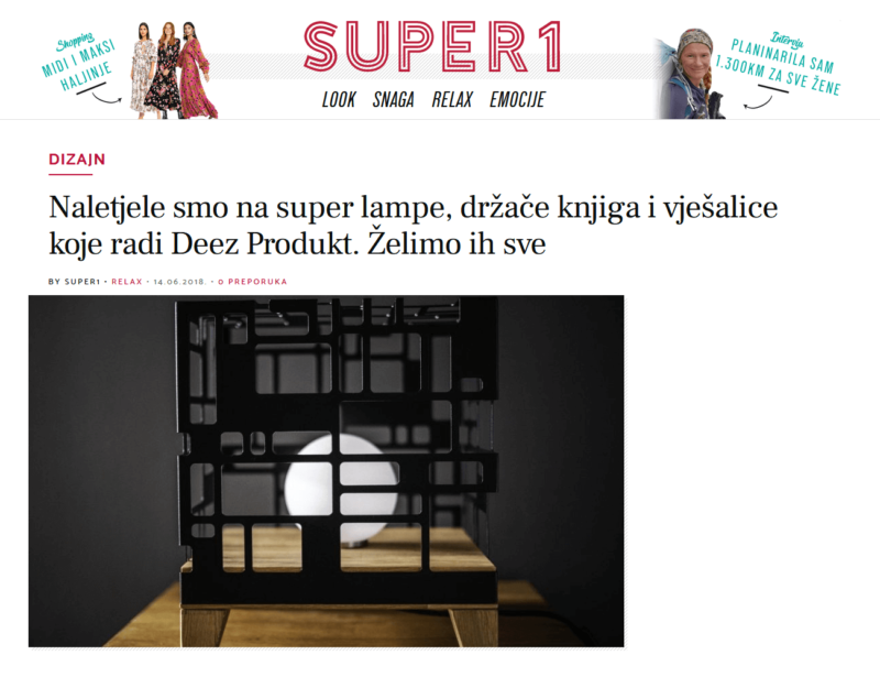 Super 1 Dizajn